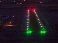 Olds-Didsbury Aerodrome Runway Lights